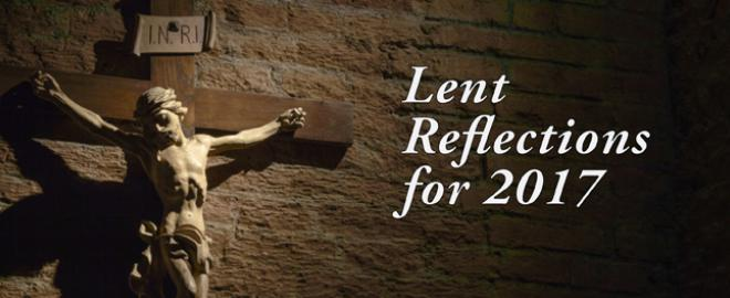 Lent Reflections for 2017