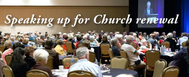 Educating lay voices to speak up for Church renewal