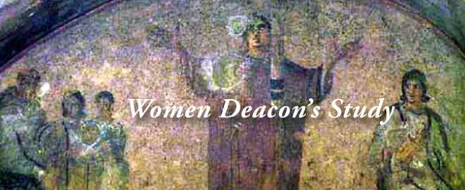 Women deacons study